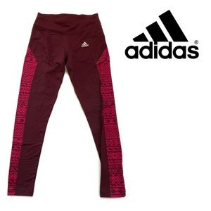 2 for $60 - Adidas Climawarm Marron Leggings Small